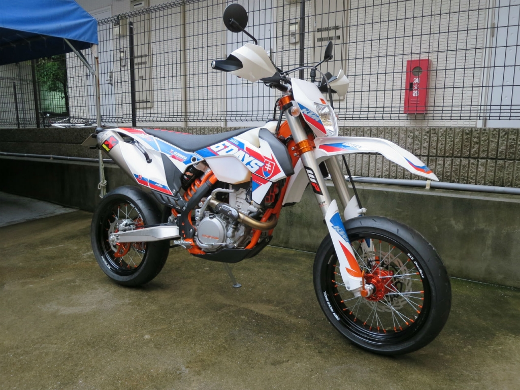 KTM 350EXC SIXDAYS SUPERMOTARD