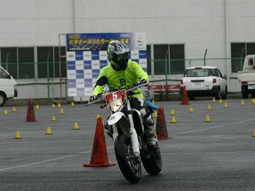 7/23 DUNLOP 月刊オートバイカップ ジムカーナ大会第3戦_01