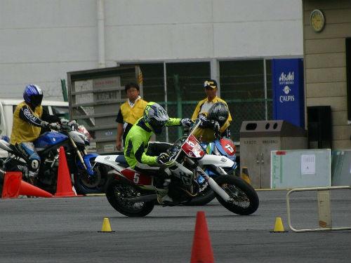 7/23 DUNLOP 月刊オートバイカップ ジムカーナ大会第3戦_02