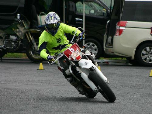 7/23 DUNLOP 月刊オートバイカップ ジムカーナ大会第3戦_03