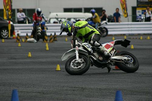 7/23 DUNLOP 月刊オートバイカップ ジムカーナ大会第3戦_04