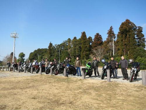 1/21 YOYOワイワイオンロードツーリング in 千葉鴨川 へ行って来ました!