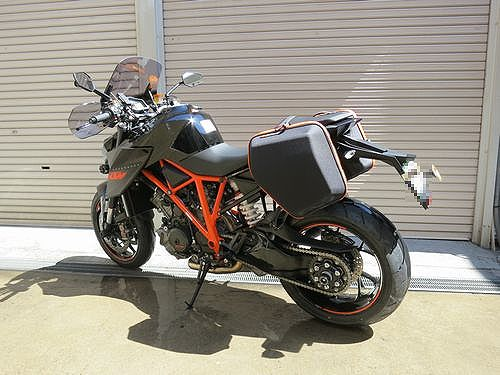 KTM 1290 SUPER DUKE R - Adventureと名付けました。_04