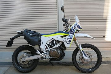 Husqvarna 701 ED 2017 MIDDLE ADVENTURE仕様 試乗車