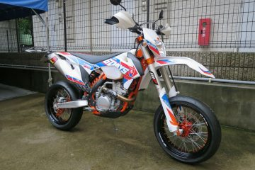 [カスタム] KTM 350EXC SIXDAYS SUPERMOTARD